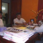 Delegado del SITRAM de Mision Laishí se reunió con el Defensor del Pueblo