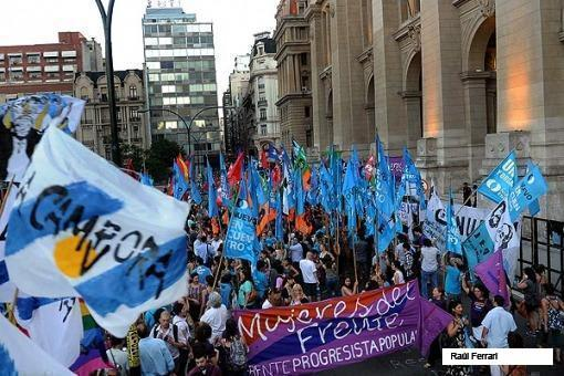 protestas en tucuman caso marita veron - 2
