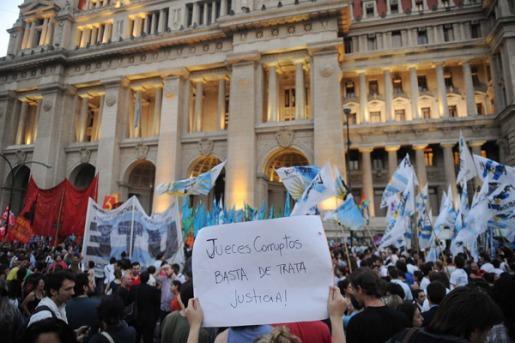 protestas en tucuman caso marita veron