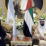La Presidenta inició su actividad oficial en los Emiratos Árabes