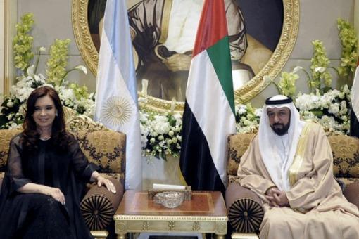 cristina emiratos arabes
