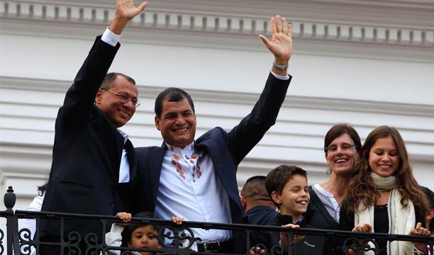 Rafael Correa_Ecuador