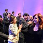 Insfrán con la presidenta en acto por la profundización de la inclusión social
