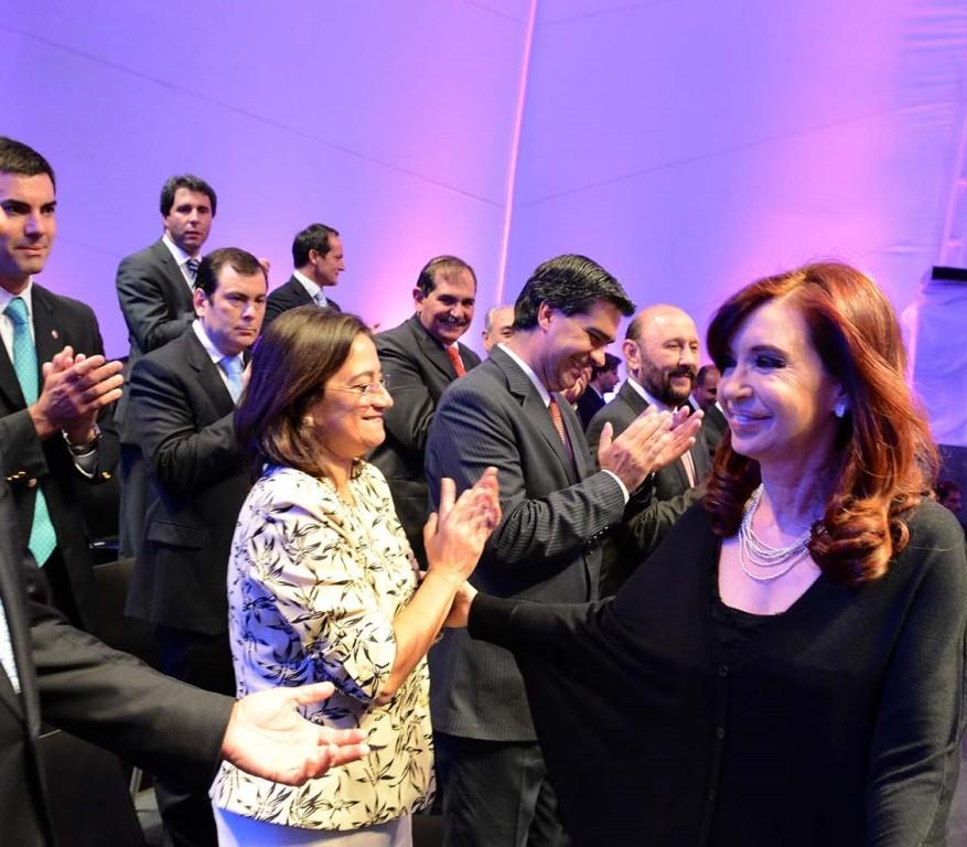 CFK EN ACTO DE MAS ACCION SOCIAL DODNE ESTUVO INSFRAN_lapa
